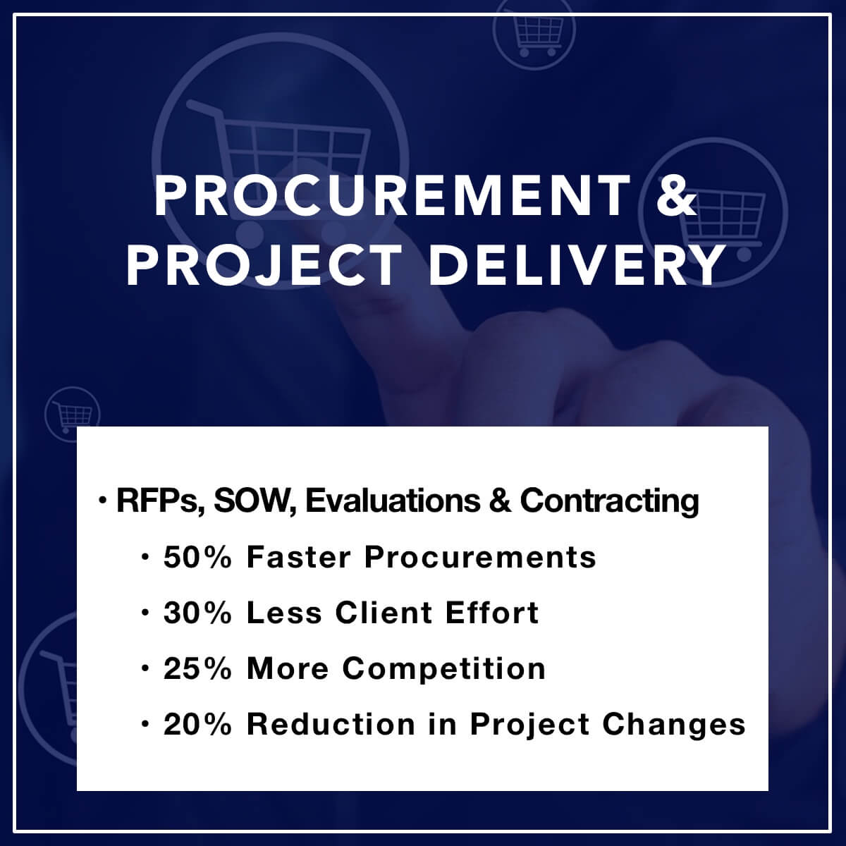 Procurement & Project Delivery